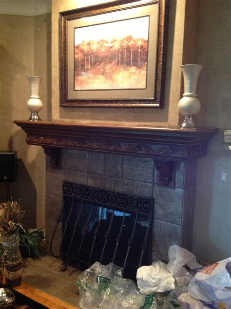 fireplace mantel ideas faux painting