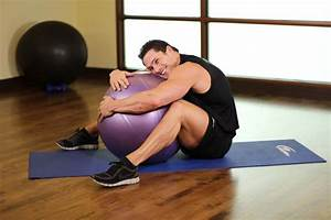 Hug A Ball Exercise Guide And Video