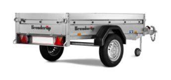 brenderup 1205 s brenderup 1205 s ub trailer brenderup bonde maskiner a s