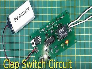 Simple Clap Switch Circuit Using Transistor