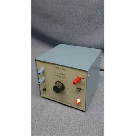 sargent welch power supply dc voltage adjustment30w 120v