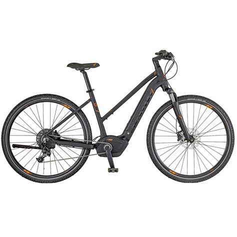 trekking e bike damen e sub cross 10 damen trekking pedelec e bike fahrrad schwarz orange 2018 top marken