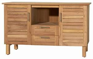 meuble bas de rangement bois salle de bain chaioscom With meuble rangement bois salle de bain