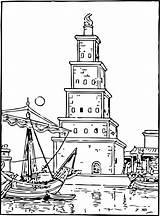 Lighthouse Coloring Pages Printable sketch template