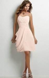 Robe Rose Pale Demoiselle D Honneur : robe mousseline rose pale ~ Preciouscoupons.com Idées de Décoration
