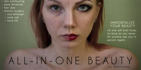 Photoshop Parody Ads By Anna Hill Show Just How Deceptive