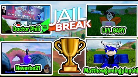 So, use this code and get free 7500 cash. Roblox Jailbreak Mini Games tournament Season 4 Highlights! - YouTube