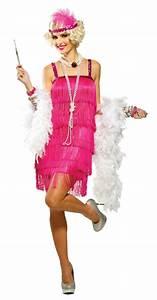 Magenta Fifth Avenue Adult Flapper Costume