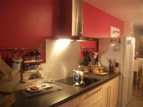 faience grise cuisine deco cuisine framboise
