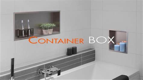 wall niche installation bathroom drywall container box