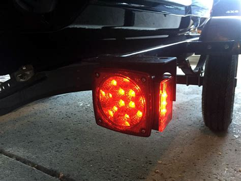 led trailer lights square led trailer lights 38 diodes submersible