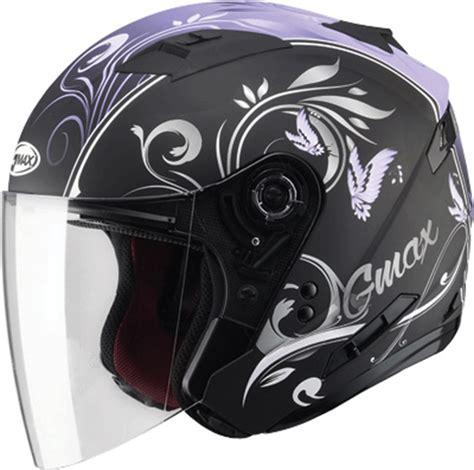 ladies motorcycle helmet gmax of77 butterfly womens open face motorcycle helmet ebay