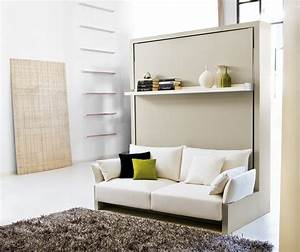 Affordable Smart Wall Beds With Multipurpose Storage On