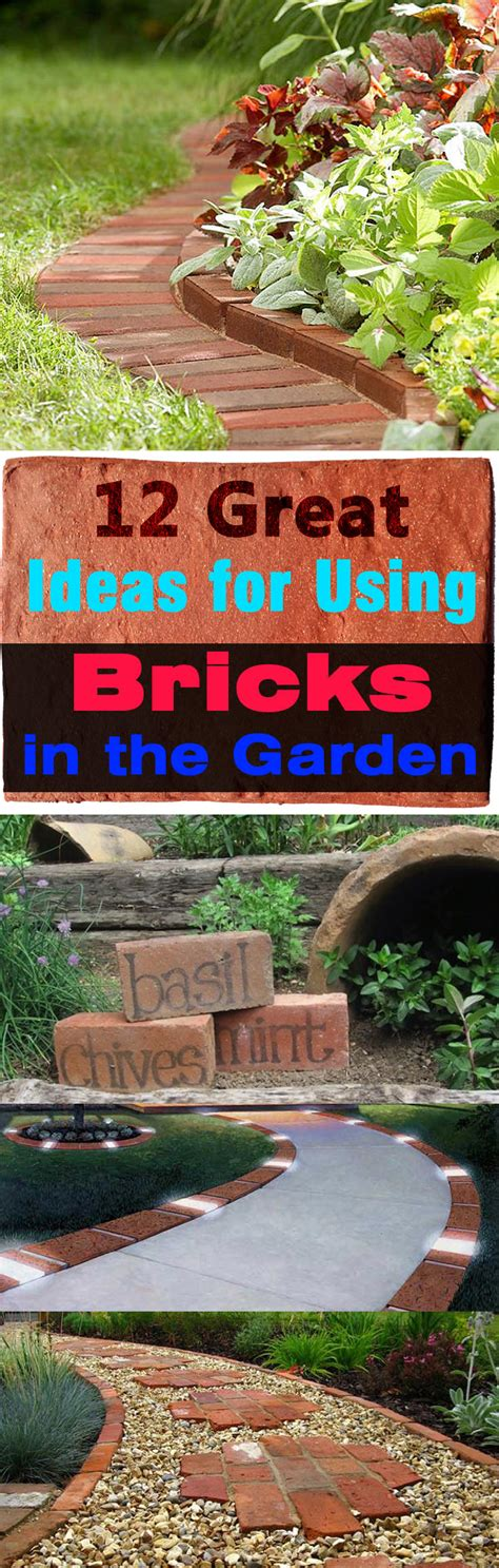 bricks garden pics using bricks in the garden smart ideas for garden design