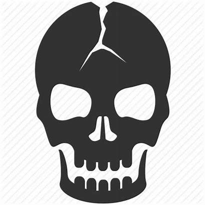 Skull Icon Icons Danger Scary Horror Transparent