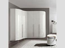 Bianca High Gloss Curved 5 Door Wardrobe F D Interiors Ltd