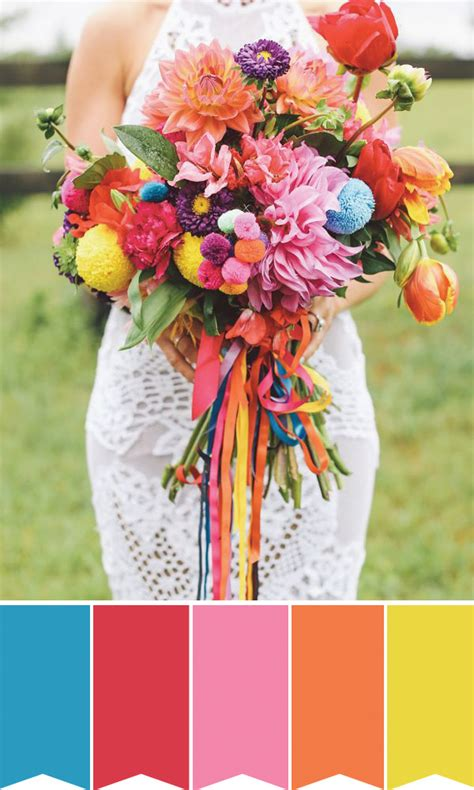 5 Gorgeous Summer Wedding Bouquets And How To Create Them