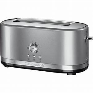 Toaster Mit Backofen : toaster mit manueller bedienung und langen schlitzen ~ Whattoseeinmadrid.com Haus und Dekorationen