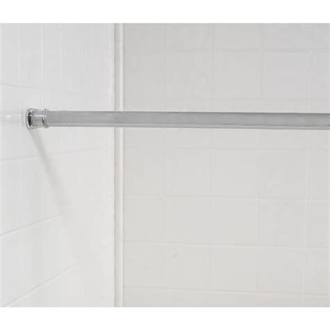 standard size shower curtain tension rod free shipping