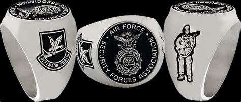 air force security forces association rings  collinson