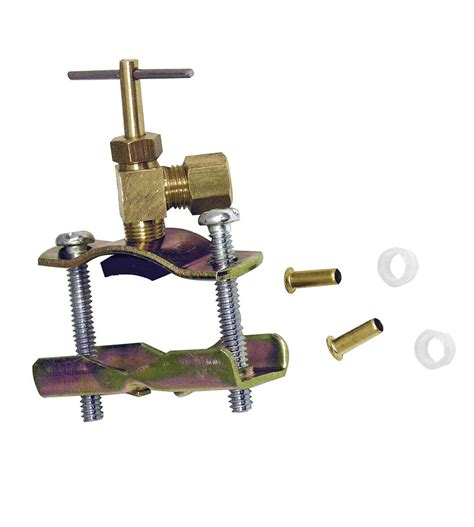 saddle valve parts plumbing danco water print repair valves