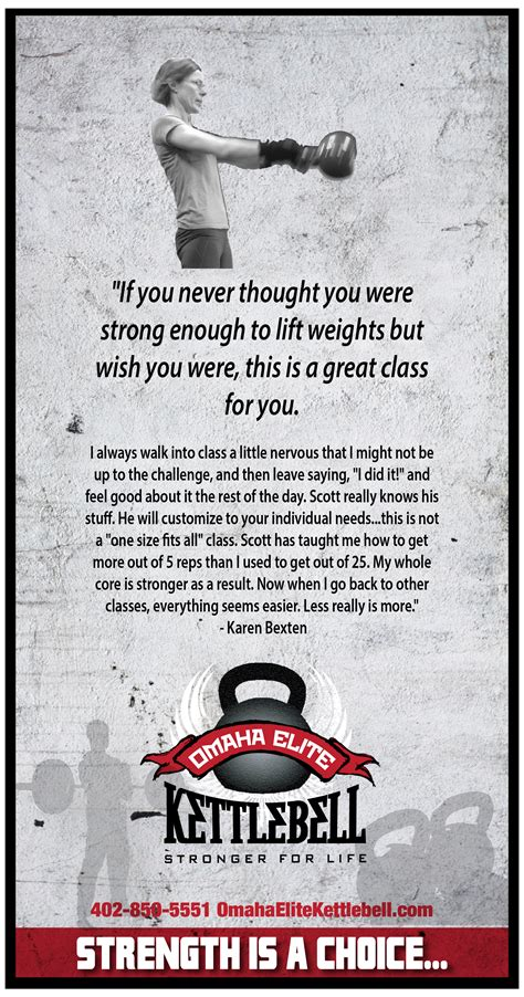 strength omaha kettlebell elite remember choice were weights did