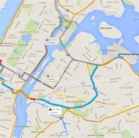 Are NYC Taxi Drivers Taking The Best Routes To LaGuardia