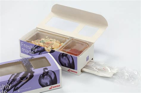 innovative menu box  air lines packaging connections