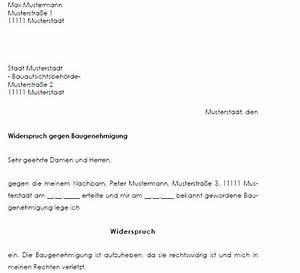 Widerspruch Gegen Baugenehmigung Muster : widerspruch baugenehmigung nachbar muster als download ~ Lizthompson.info Haus und Dekorationen