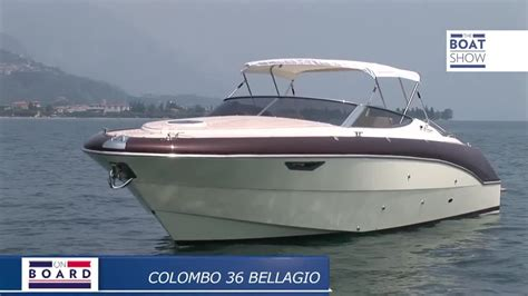 [eng] Colombo 36 Bellagio  Review  The Boat Show  Youtube