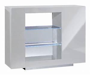 Mobilier De Bar : bar vertigo blanc brillant ~ Preciouscoupons.com Idées de Décoration