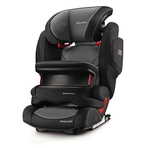 siege auto recaro 1 2 3 siège auto monza is seatfix carbon black groupe 1 2