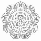 Coloring Mandala Pages Babadoodle Mandalas sketch template