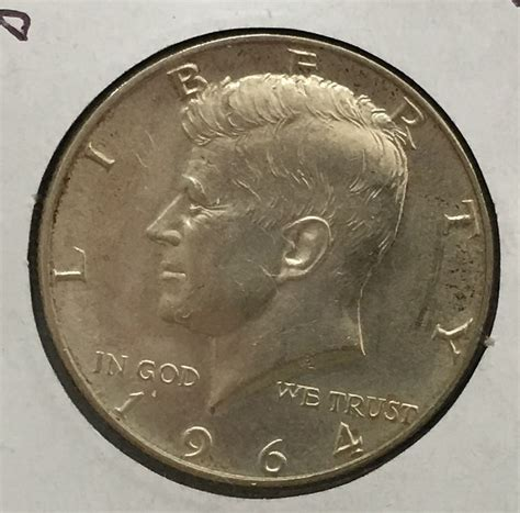 kennedy half dollar 1964 1964 d kennedy half dollar for sale buy now online item 82630