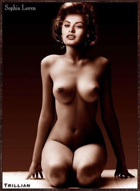 Sophia Loren Celebrity Porn Photo