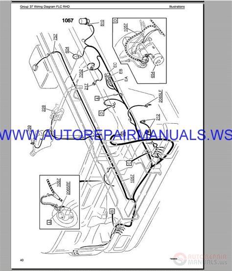 Volvo Flc Lhd Trucks Wiring Diagram Service Manual Auto