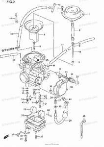Suzuki Atv 1997 Oem Parts Diagram For Carburetor