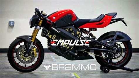 Brammo Empulse Electric Motorcycle -100mph/100mile Range