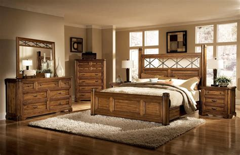 quality wood rustic king size bed perfect rustic king