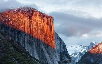 Mac Apple Mountain Capitan Nature El Osx