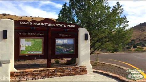 The georgia state parks & historic sites park guide is a handy resource for planning a spring break, summer vacation or family reunion. Davis Mountains State Park Campground Fort Davis Texas TX ...
