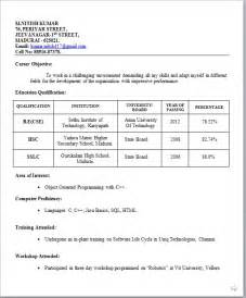 resume templates download for freshers download resume templates for freshers 463 latest resume format