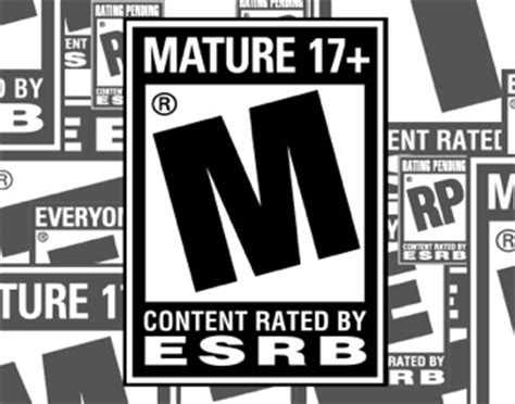 esrb ratings awareness   maxed   escapist