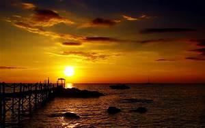 GOLDEN SUNSET HD WALLPAPER | Top HD Wallpapers