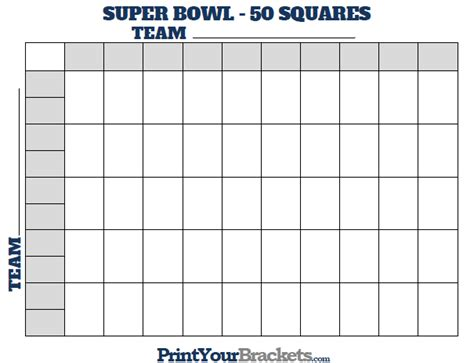 printable  square football board calendar june