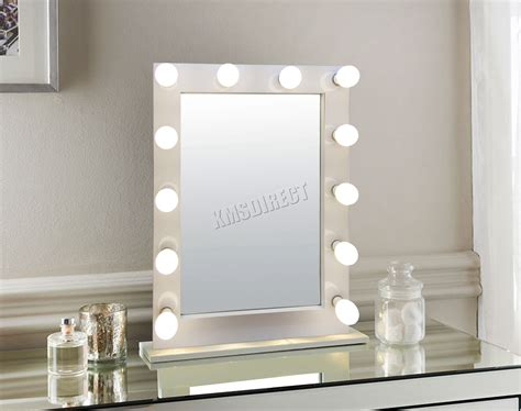 vanity mirror with bulbs foxhunter makeup mirror led 12 bulbs dimmer light cosmetic