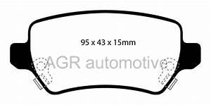 Mintex Rear Brake Pads Mdb2223 For Kia Venga 1 4 2010