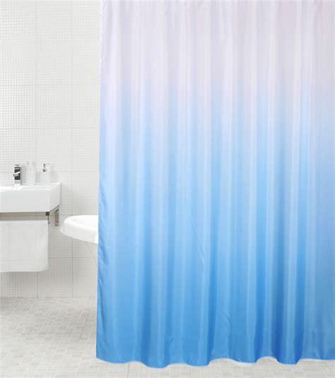 shower curtain magic blue 180 x 200 cm