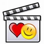 Romantic Comedy Film Clapperboard Svg Wikipedia Pixels