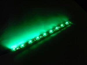 green  computer case led  strip  stick  pc ps